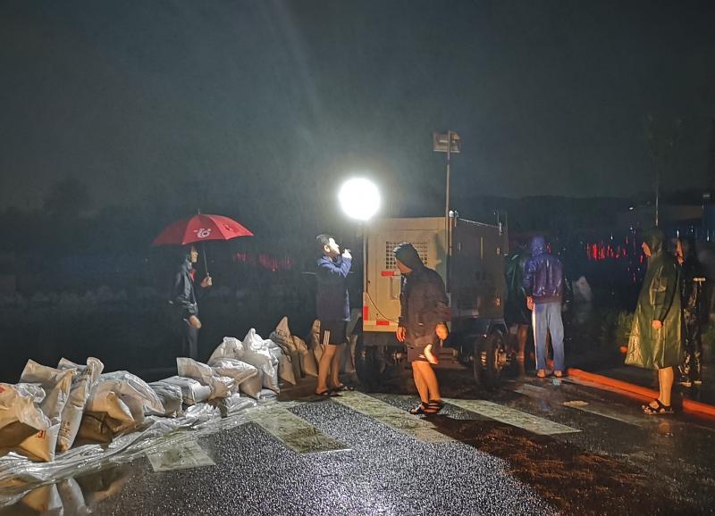 """公司全力应对""""利奇马""""台风保供水"""